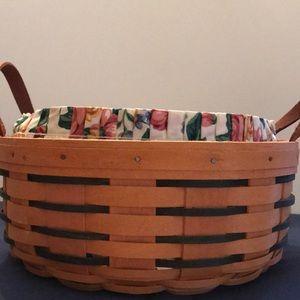 EUC - Longaberger Darning Basket Set
